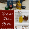 Wizard Potion Bottles with Free Printable Labels