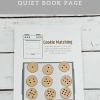 Counting Cookies Quiet Book Page
