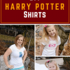 DIY Harry Potter Shirts - Uploading your Own Images with a Cricut