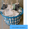 Laundry Basket Diaper Cake