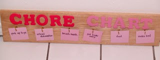 Tutorial: Chore Chart with paint chip cards