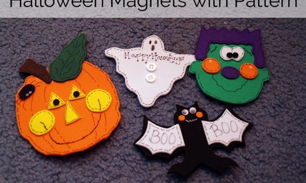Cute Halloween Magnets- Free Pattern