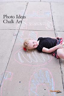 Photo Ideas- Chalk Art Photos
