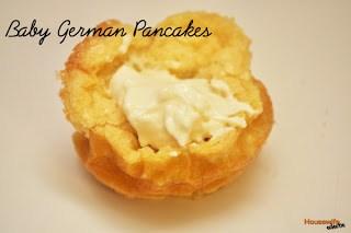 Baby German Pancakes