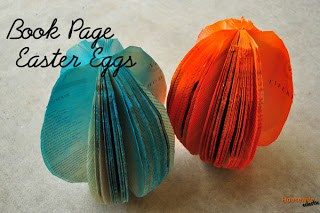 Book Page Easter Eggs