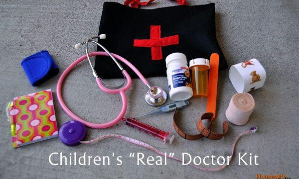 """Children's """"Real"""" Doctor Kit"""