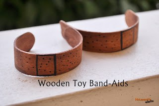 Wooden Toy Band-Aids