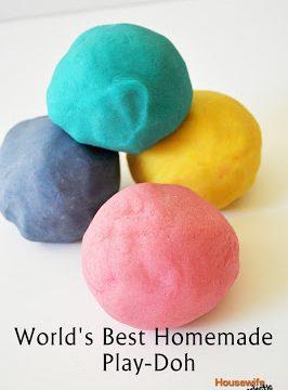 World's Best Homemade Play-Doh