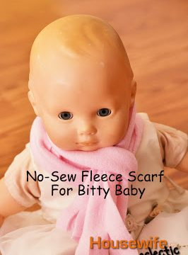 No-Sew Doll Scarf (Sized for Bitty Baby)