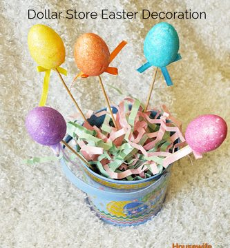 Easter Centerpiece in 5 minutes or Less