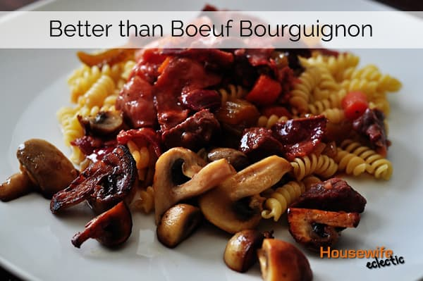 Bouef Bourguignon without Wine