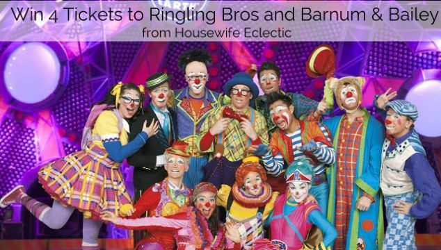 Giveaway: Family Four Pack of Tickets to Ringling Bros. and Barnum & Bailey Circus