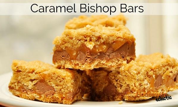 Caramel Bishop Bars