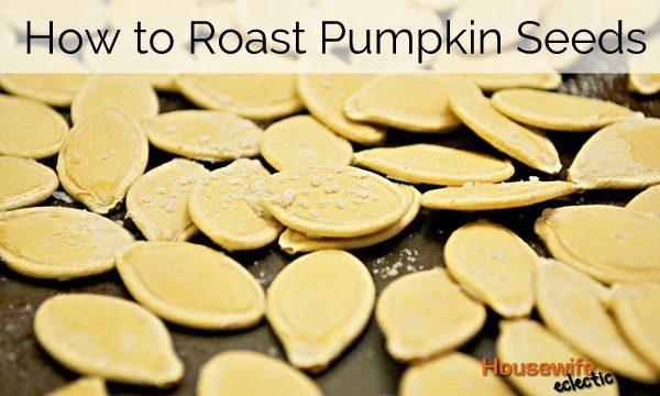 How to Roast Pumpkin Seeds and Happy Halloween