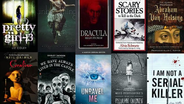 Top 10 Scary Books and Book Covers