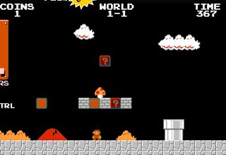 WotW: Waste Away Your Adult Life with Full-Screen Mario