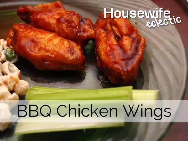 Fantasy Football BBQ Chicken Wings #Shop