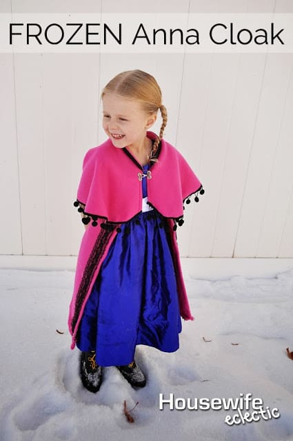 How to make Anna's cloak from frozen, Anna Cape, Frozen Costumes