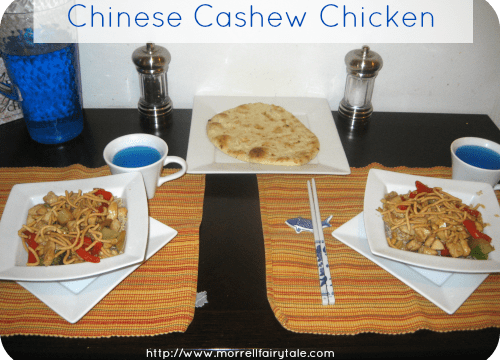 Chinese Cashew Chicken with Tayler from Our Fairy Tale