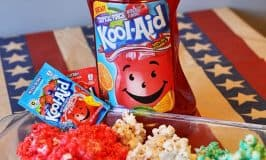 4th of July Kool-Aid Fruit Drink Popcorn