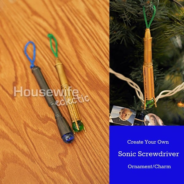 Housewife Eclectic: Sonic Screw Driver Ornament