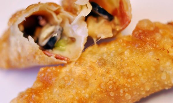 A Slice (No, Roll) of Heaven: Pizza Egg Rolls