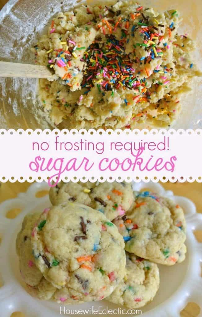 Delicious and Easy Soft Sugar Cookies | HousewifeEclectic.com