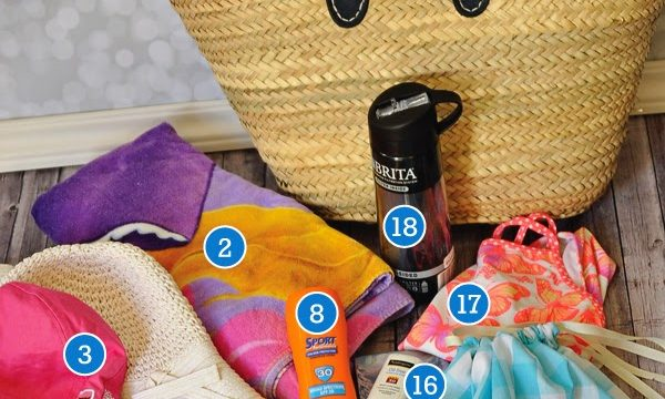 Summer Bag Essentials with a 15 Swim Suit Bag Tutorial