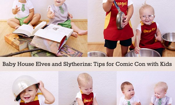 House Elves and Baby Death Eaters (Kid Cosplay and Comic Con Tips)