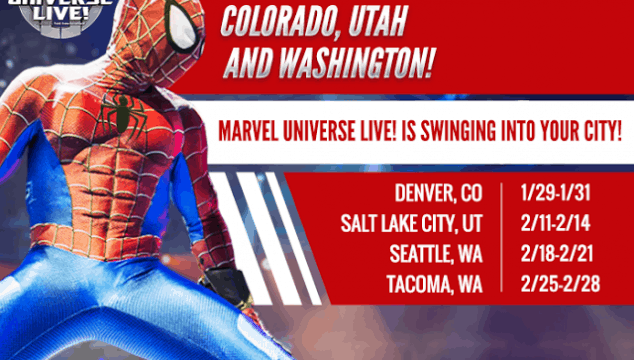 Marvel Universe Live Utah Discount Code and Giveaway!