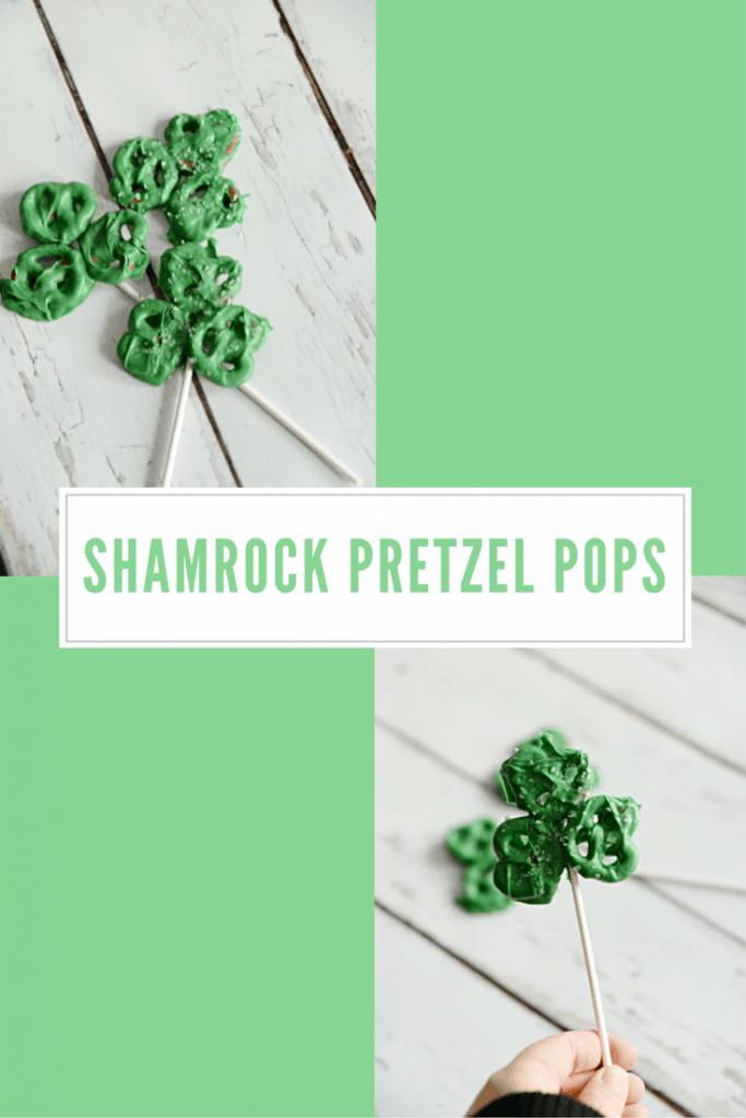 Housewife Eclectic: Shamrock Pretzel Pops