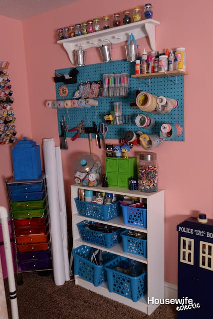 doctor who craft room tour housewife eclectic