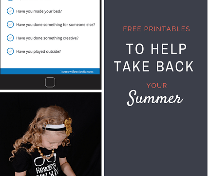 Summer Screen Time Rules Printables