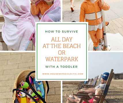 How to Survive All Day at the Beach or Waterpark with a Toddler