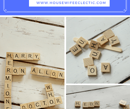 Geeky Scrabble Magnets