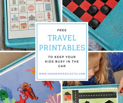 Free Travel Printables for Kids