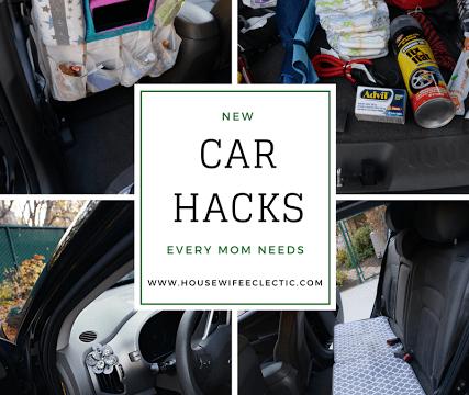Car Hacks Every Mom Needs