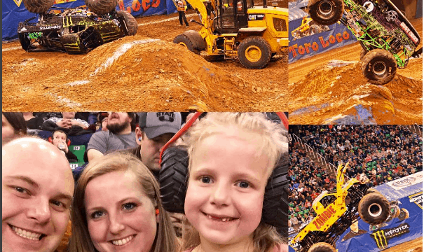 Monster Jam in SLC January 6 and 7th! Plus Ticket Giveaway!