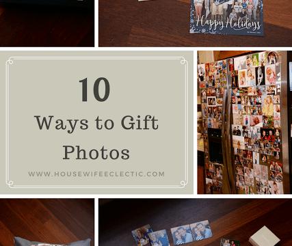 10 Ways To Gift Photos