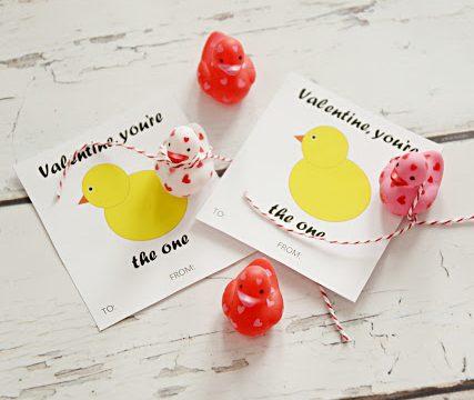 Rubber Ducky Valentine