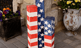 Americana Wood Firecrackers (4th of July Porch Decor with Cricut Explore)