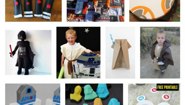 May The Fourth Be With You! Fun Stars Wars DIYs
