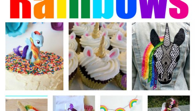 29+ Unicorn and Rainbow Ideas