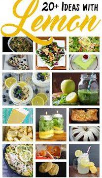 20+ Ideas with Lemon