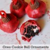 Oreo Cookie Ball Ornaments