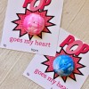 Pop Goes My Heart Valentine with free printable
