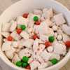 Peppermint Cake Muddy Buddies
