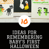 10 Ways to Remember Baby's First Halloween