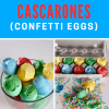 How to Make Cascarones (Confetti Eggs)