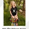 DIY This Princess Wears Cleats Shirt